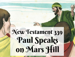 NT 339 - Paul Speaks on Mars Hill