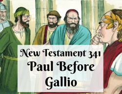 NT 341 - Paul Before Gallio