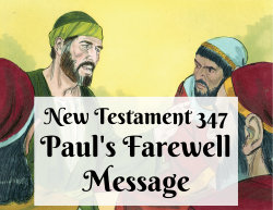 NT 347 - Paul's Farewell Message