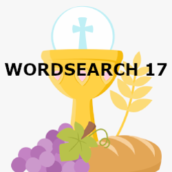 First Communion - Wordsearch 17