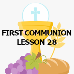 First Communion - Lesson 28 - Angels