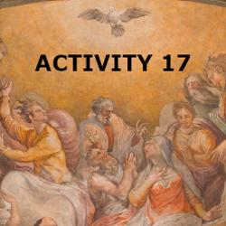 Confirmation - Activity Sheet 17