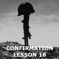 Confirmation - Lesson 16 - Suffering