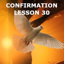 Confirmation - Lesson 30 - Vocations