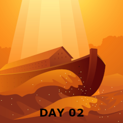 Day 02 - Flood and People Scatter at Babel