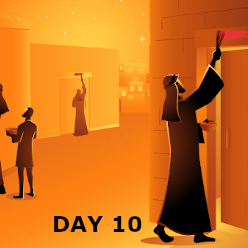 Day 10 - The Passover and Red Sea