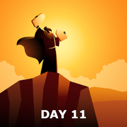 Day 11 - Manna and the Covenant Made with Moses