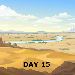 Day 15 - Israel Crosses the Jordan