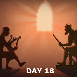 Day 18 - The Tribal Allotment and Israel asks for a King