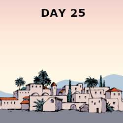 Day 25 - Israel Falls to Assyria