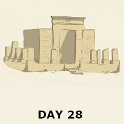 Day 28 - The First Temple is Destroyed