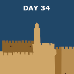 Day 34 - Nehemiah Returns and Rebuilds Jerusalem's Walls
