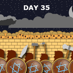 Day 35 - Antiochus Desecrates the Temple