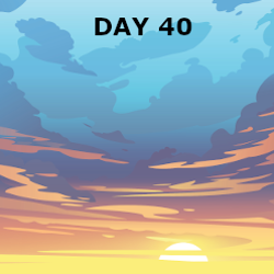Day 40 - Witness in Judea, Samara, and to the Ends of the Earth