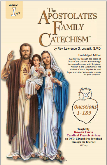 The APOSTOLATE'S FAMILY CATECHISM