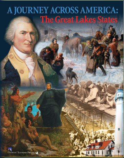 A Journey Across America: The Great Lakes States (Student Workbook)