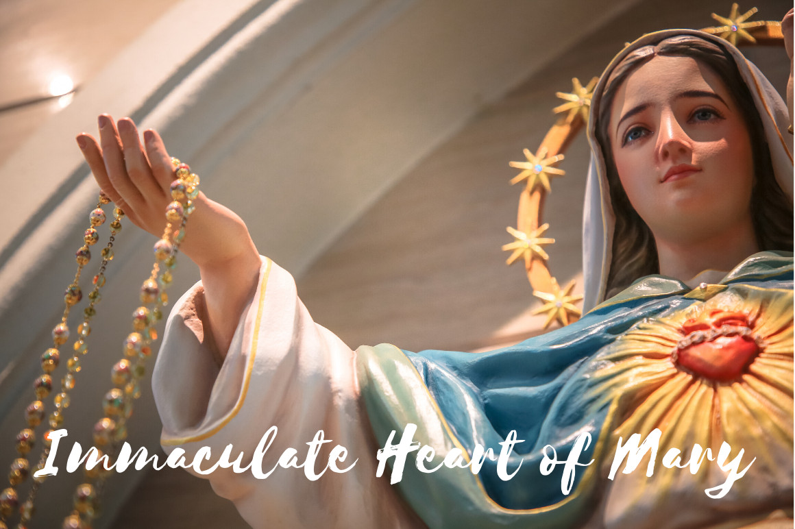 August - The Immaculate Heart of Mary