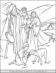 Abraham Sarah and Isaac