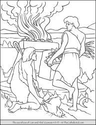 Cain and Abel's Sacrifice