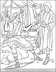 Esau Sells Birthright