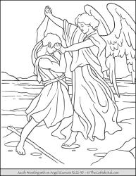 Jacob Wrestles an Angel