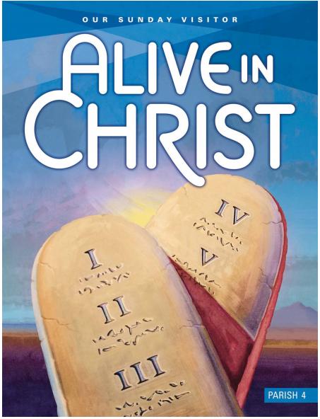 Alive In Christ Parish Grade 4