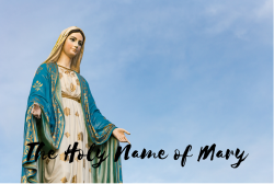 The Holy Name of Mary