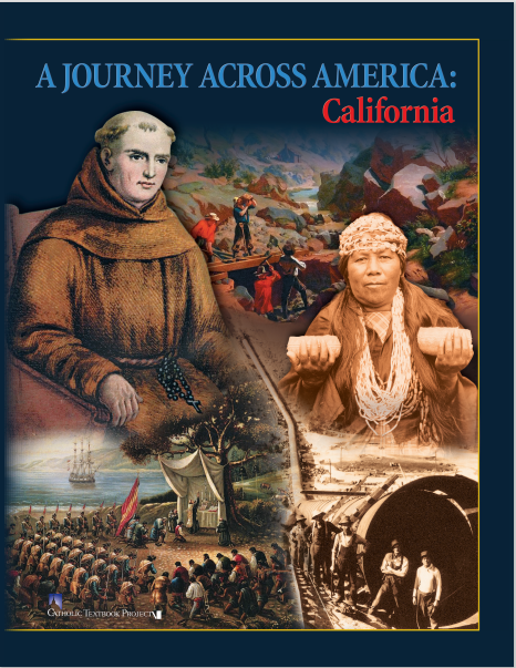 A Journey Across America: California Workbook
