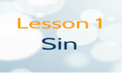 What is Sin? Grade 2-3