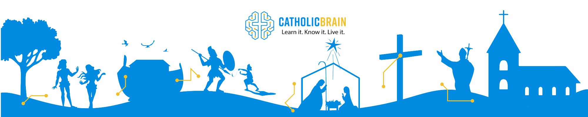 Catholic Brain Footer Image