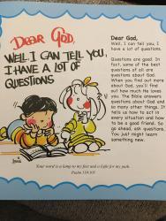 Adventure Catechism L-1 lezzjoni – Min ħalaq id-dinja?test