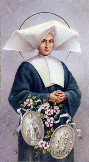 Nov. 28 - St. Catherine Laboure