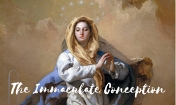 December - The Immaculate Conception of the Blessed Virgin Mary