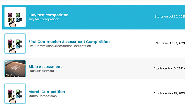 Assessments & Competitions