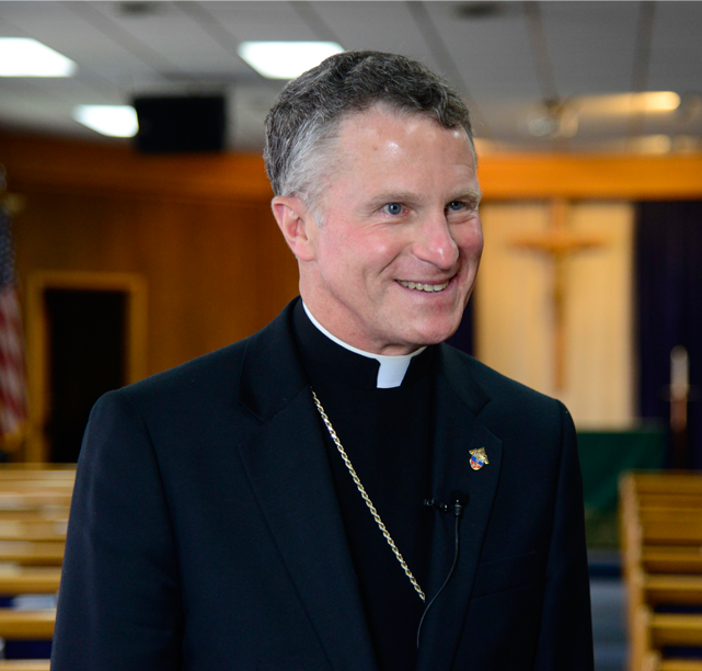 Archbishop Timothy P Broglio