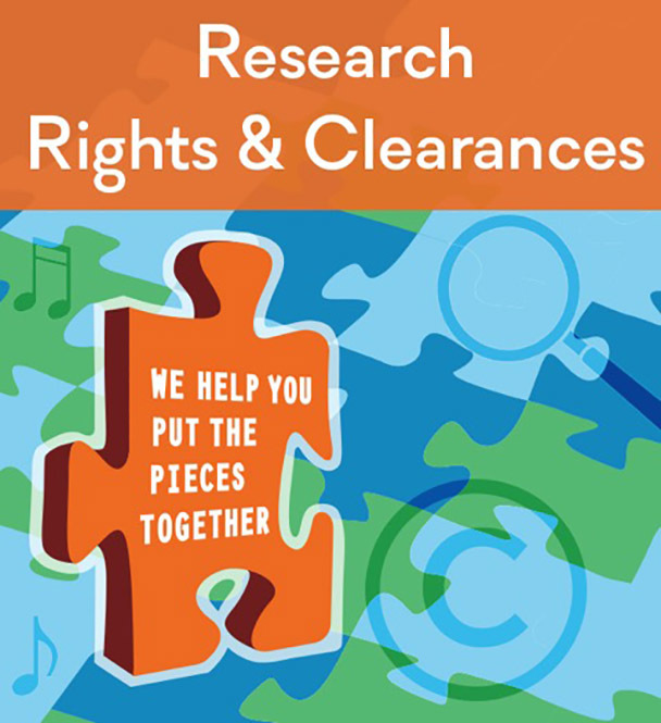 research, rights and clearances