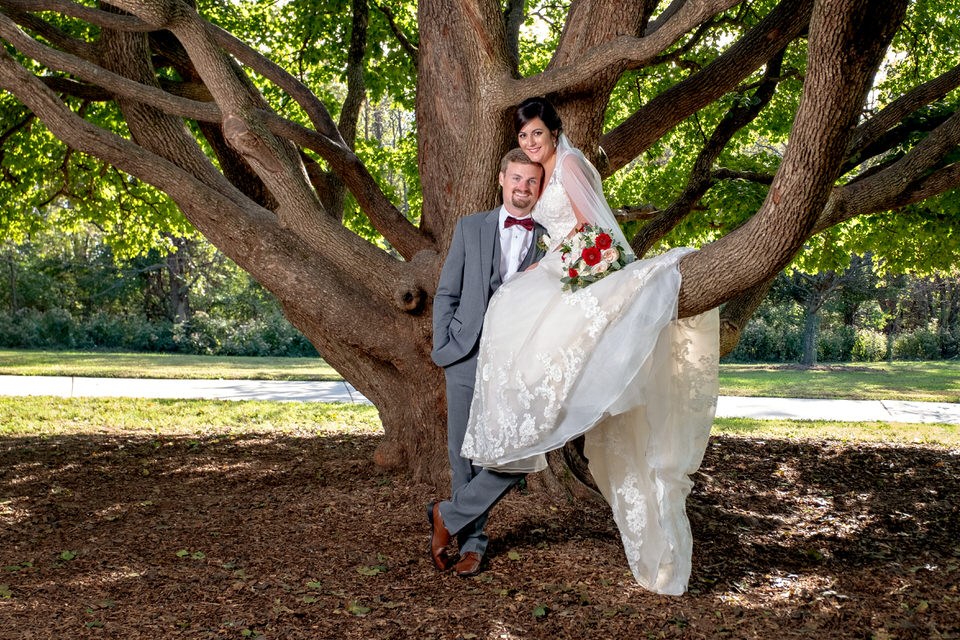 Mr. & Mrs. Holman | Cincinnati Wedding Photographer |