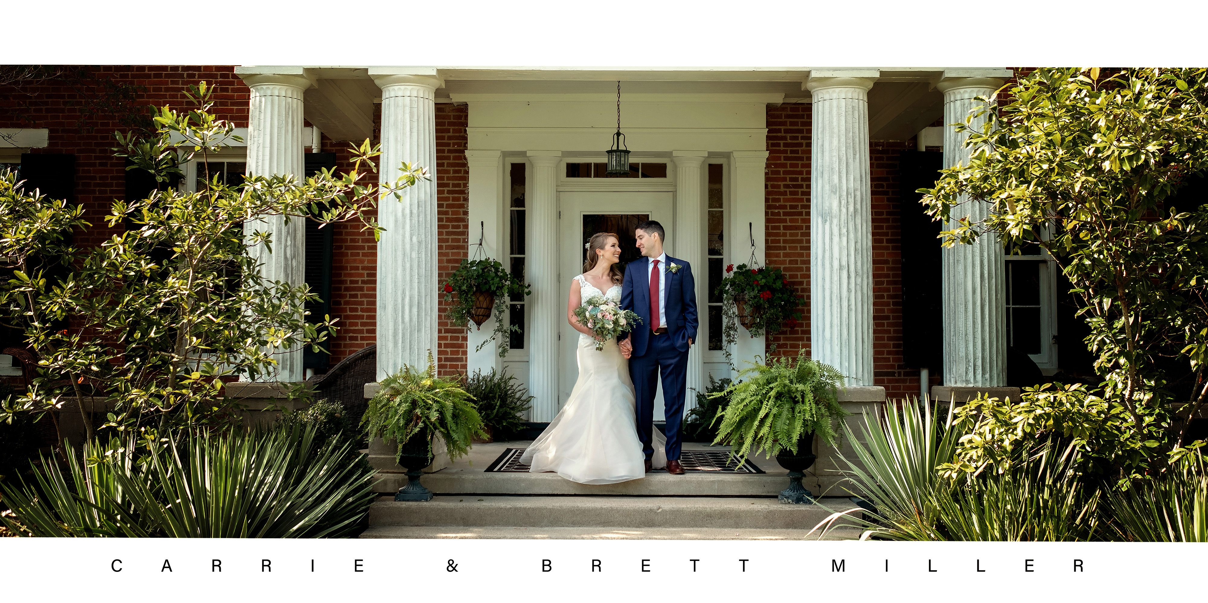 Mr. & Mrs. Miller | Ashley Inn | Kentucky Wedding Photographer