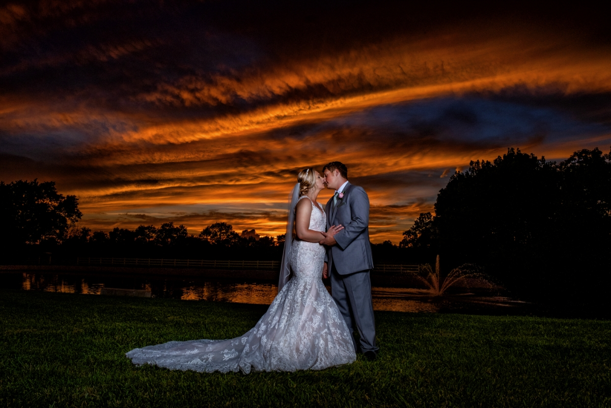Mr. and Mrs. Leland | Rolling Meadows Ranch wedding photography