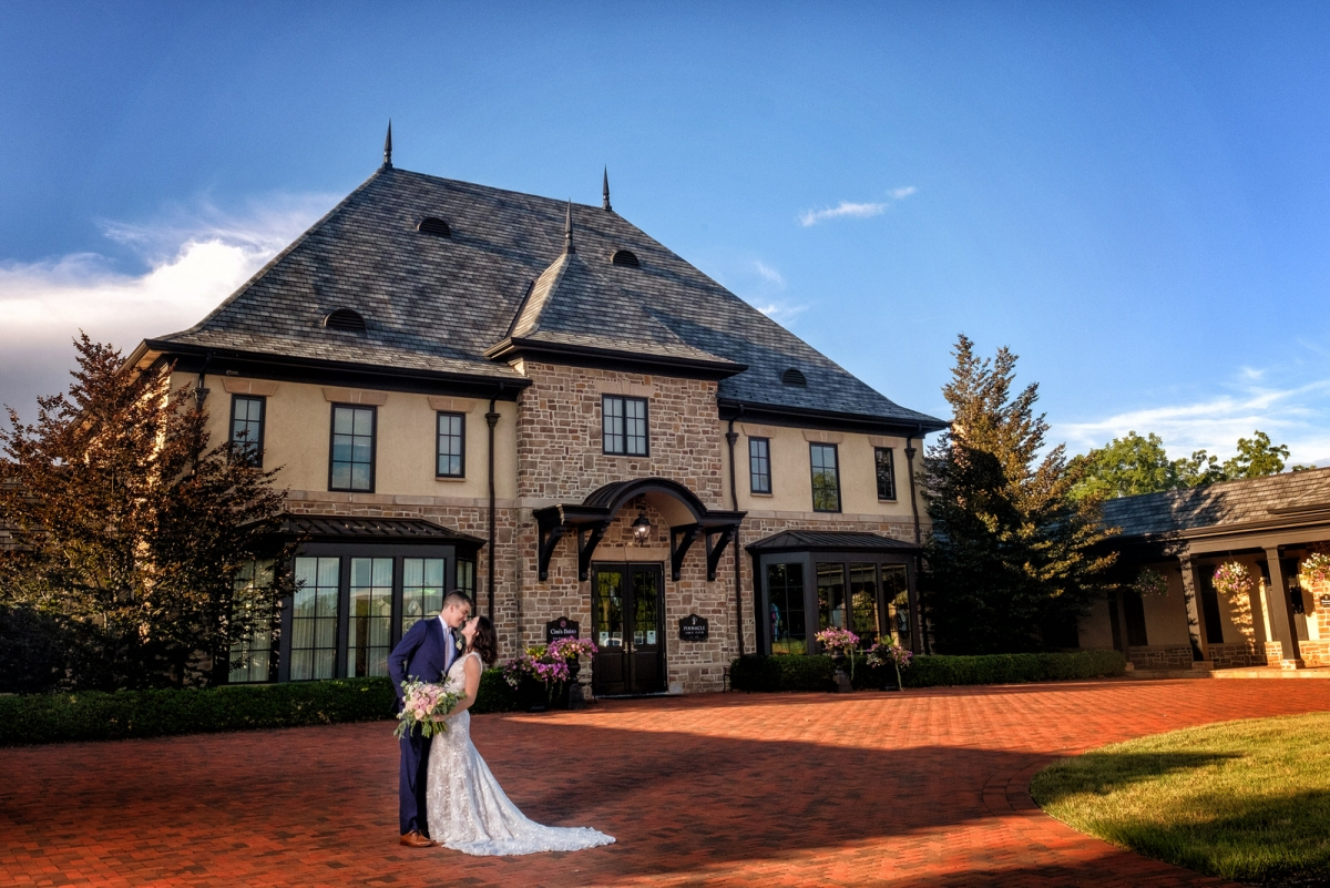 Mr. and Mrs. Cook | Pinnacle Golf Club wedding photography
