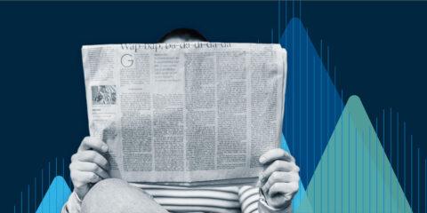 Newsfeed page header