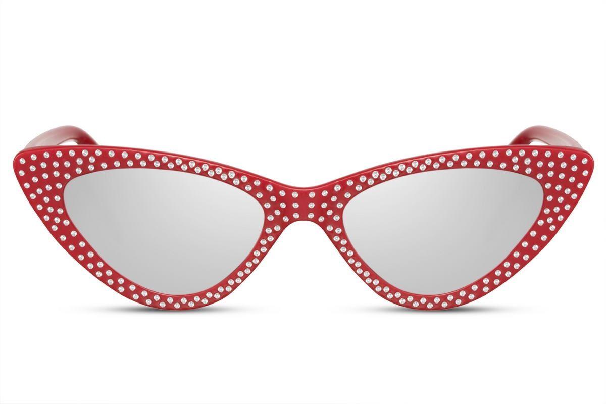 Diamond Cateye - Red