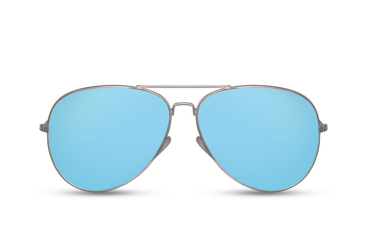 Blissfully Blue Aviators