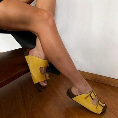 Sandália BK Plus Girassol