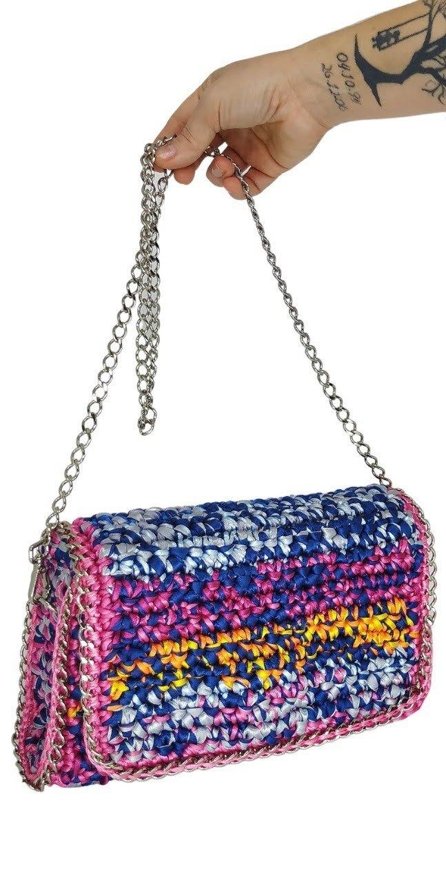 Bolsa Multicolorida Lisa