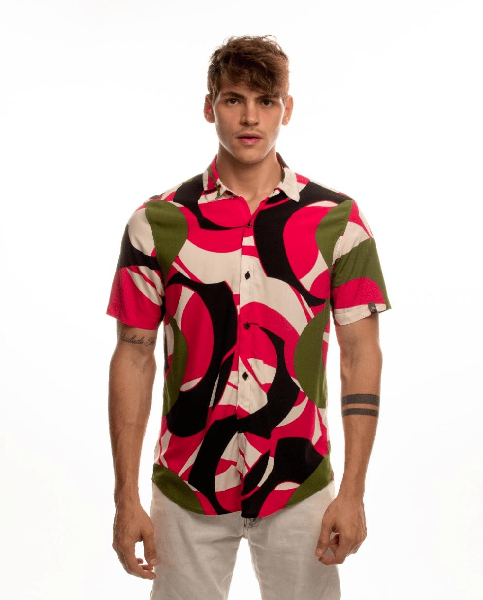 Camisa Cosmos Pink