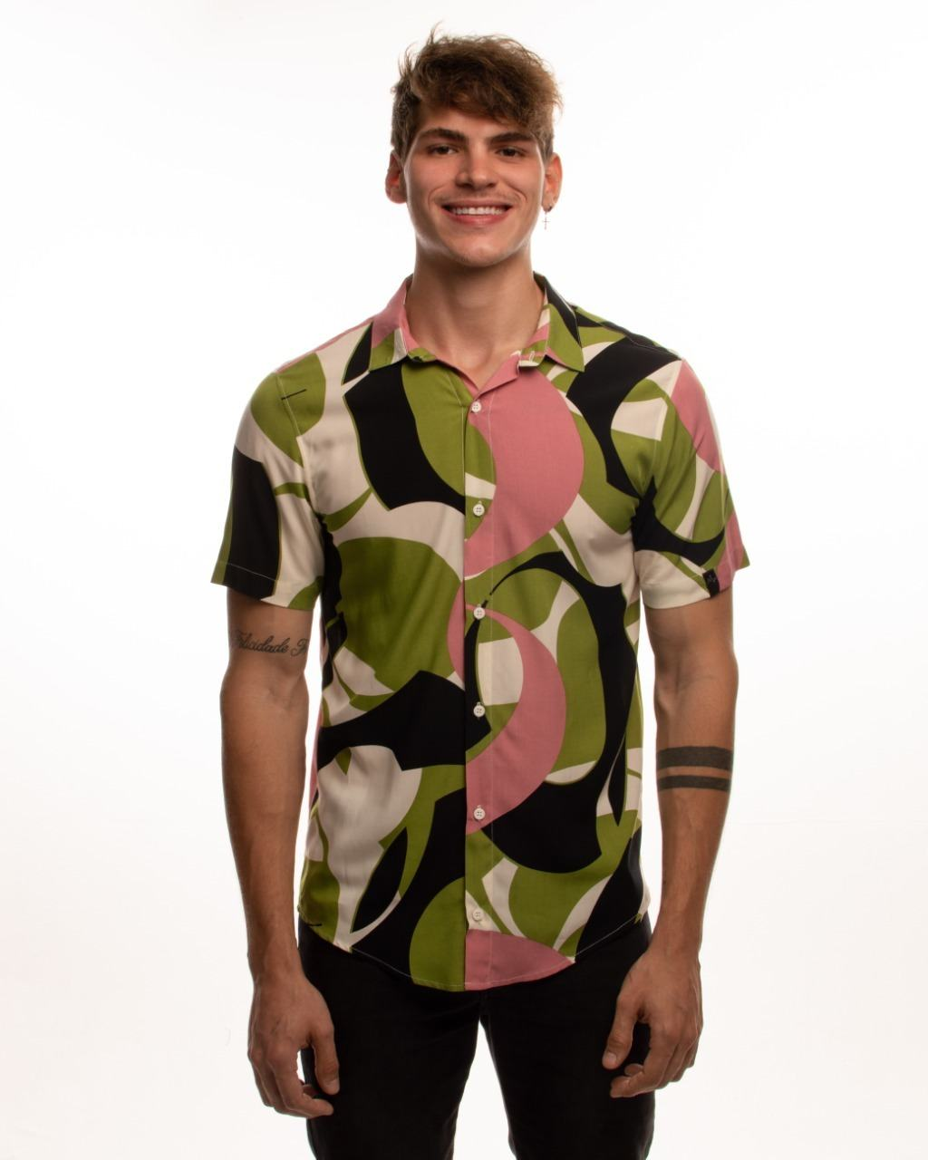 Camisa Cosmos Verde