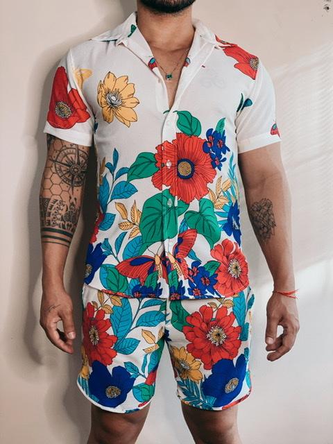 Camisa Noronha Floral