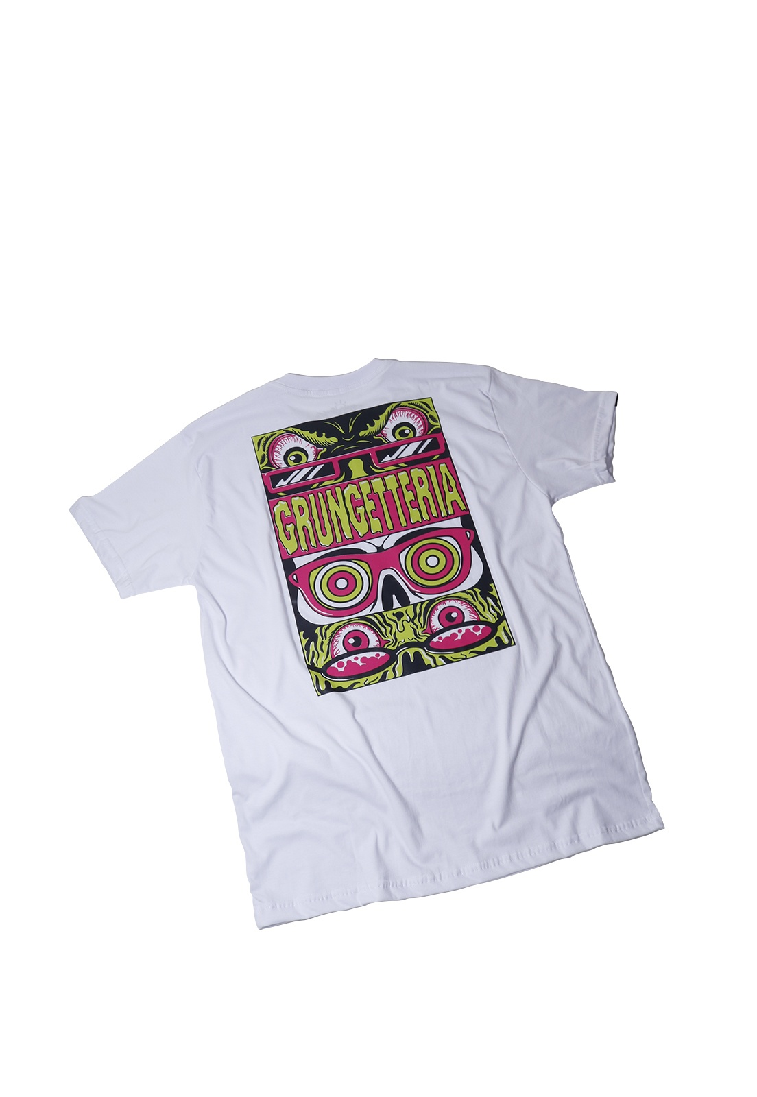 Camiseta Grungetteria Grunge Eyes Branca