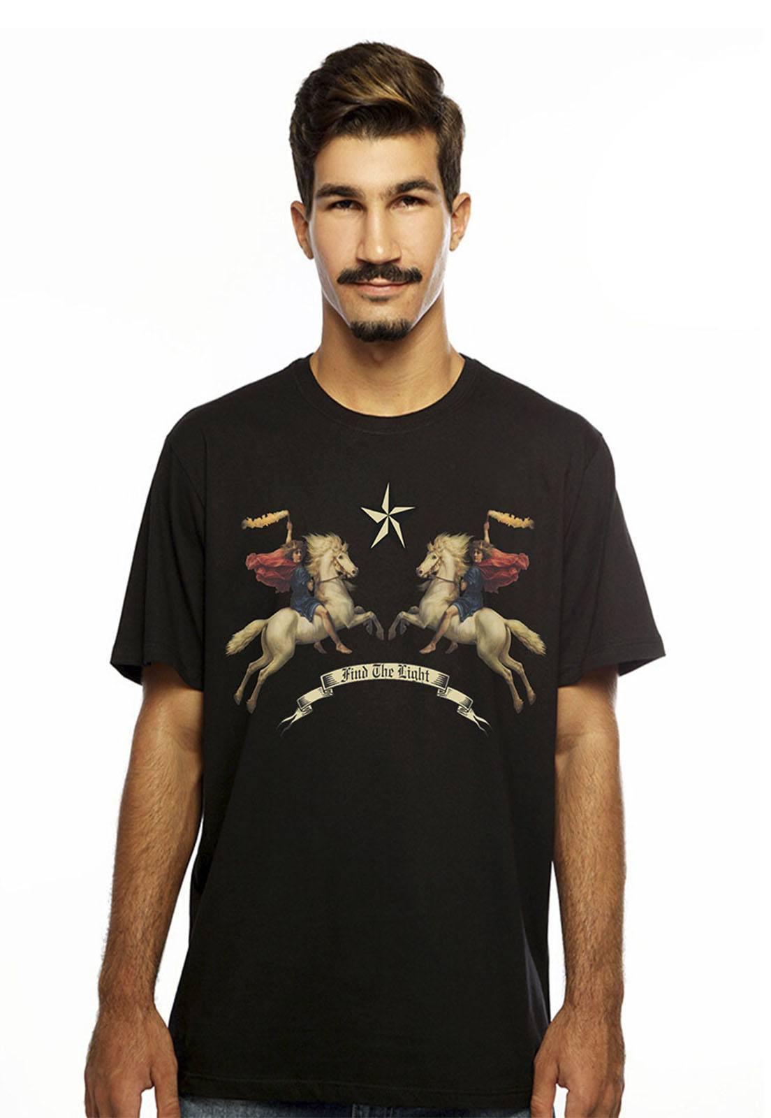 Camiseta Hardivision Valkirias Manga Curta Preto